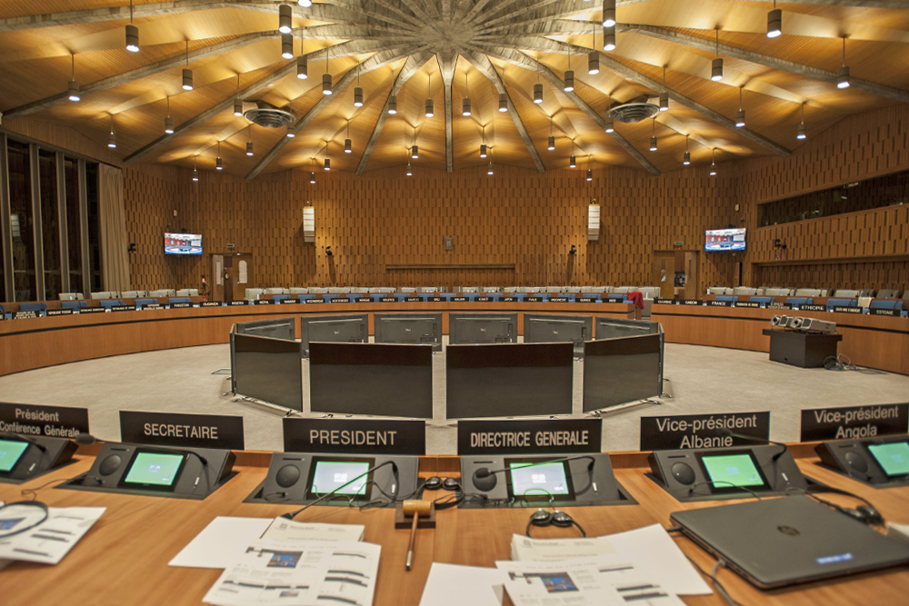 Salle X - Unesco Paris