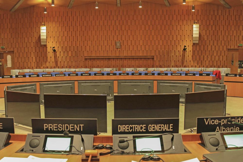 Unesco Salle X Paris